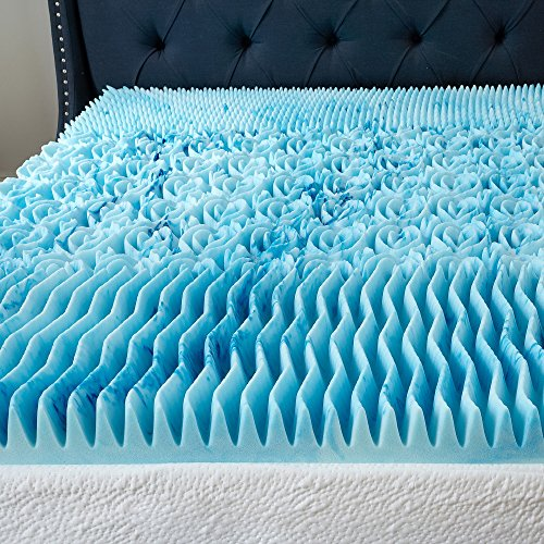 3 Inch Cool Cloud Gel Memory Foam Mattress Topper Queen
