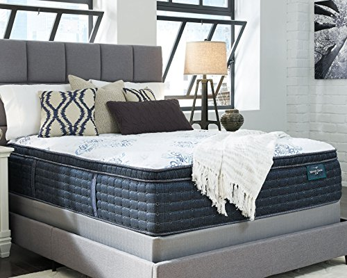 Ashley Furniture Signature Design Sierra Sleep Mt Dana Euro Top King Mattress White
