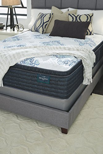 Ashley Furniture Signature Design Sierra Sleep Mt Dana Euro Top King Mattress White