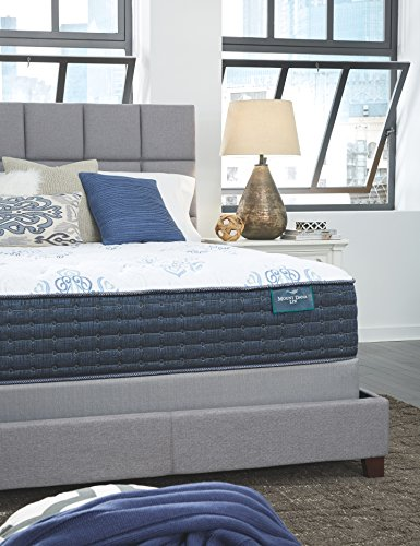 Ashley Furniture Signature Design Sierra Sleep Mt Dana Plush King Mattress White