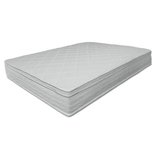 Best Price Mattress 10 Independent Operating Coil Euro Top Spring Mattress Queen White