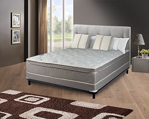 Continental Sleep Mattress Pillow Top Pocketed Coil Orthopedic Twin Size Mattress Acura