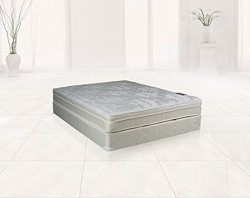 Continental Sleep Plush Quilted Euro Top Orthopedic ...