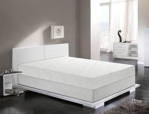 Primo International Serene 8 Inch Gel Memory Foam Mattress
