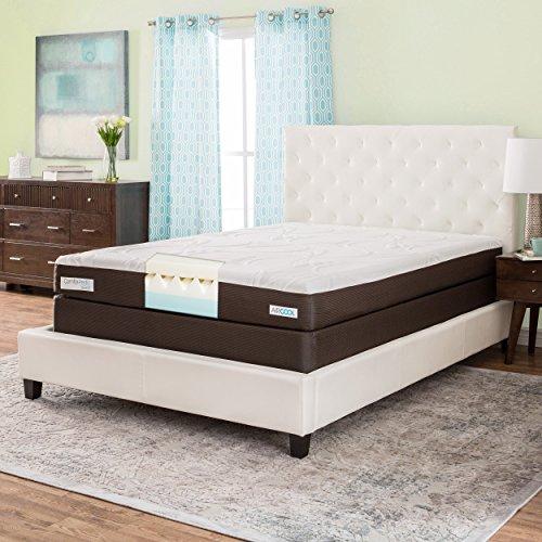 Simmons beautyrest comforpedic from beautyrest 8 inch queen size memory foam mattress set Memory foam mattress set