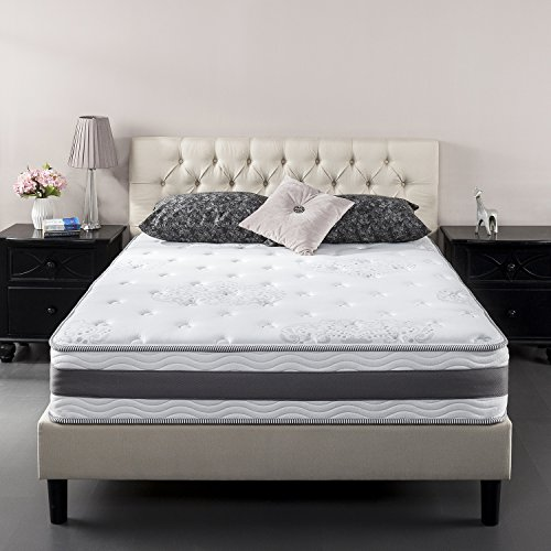 Zinus 10 Inch Gel Infused Memory Foam Hybrid Mattress