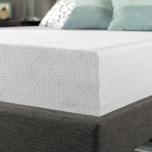 Zinus 12 Inch Gel Infused Green Tea Memory Foam Mattress