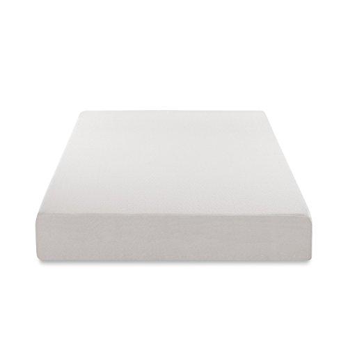 zinus memory foam 12 inch green tea mattress queen mattressima. Black Bedroom Furniture Sets. Home Design Ideas